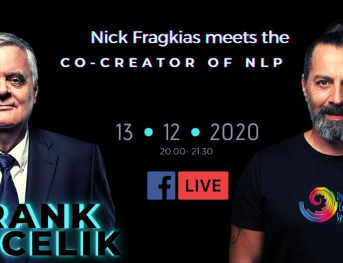 Συνέντευξη του Νίκου Φραγκιά με τον Frank Pucelik, συνδημιουργό του NLP
